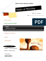 Order of Worship 11 07 2010 v2
