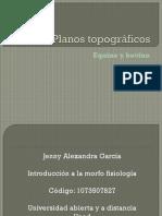 presentacion Planos topográficos