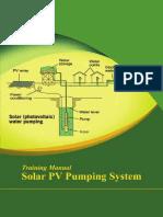Solar PV Pumping System  (Training Manual).pdf