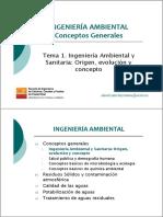 1 Ing Amb y San Origen Evolución y Concepto v2015 Resumen
