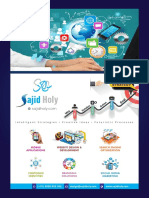 Graphic and Web Design Brochure Sajid Holy