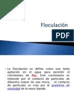 Floculación 2018