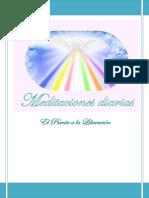 Meditaciones diarias. Thomas Printz. Puente a la Liberación