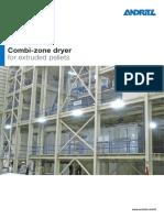 Andritz Combi-zone Dryer for Extruded Pellets