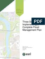 Three Steps Flood Management