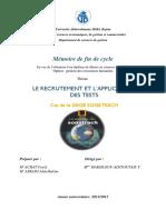 Le recrutement et l'application des tests.pdf