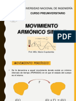Movimiento Armónico Simple - PRE