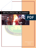 Pirometalurgia Del Aluminio Con Resumen