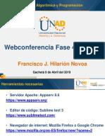 Webconferencia Fase 4