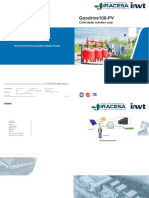 Variador Goodrive100-PV Brochure Spanish