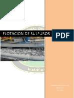 Flotacion de Sulfuros