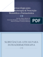 Farmacologia para Intradermoterapia & Prescrição Biomédica e Farmacêutica - Material Complementar.pdf