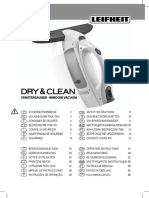 51000 Fenstersauger Dry Clean Bedienungsanleitung 001