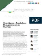 Pós-Graduação_ Compliance e Combate Ao Branqueamento de Capitais - Universidade Agostinho Neto