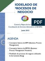 Modelado de Procesos Control y Mejora de Los Servicios Csei