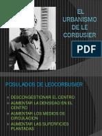 El Urbanismo de Le Corbusier