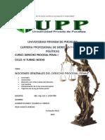 Trabajo Derecho Procesal Penal
