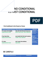 Theory - Conditionals