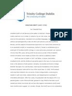 Swift, Trinity Writers