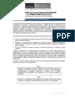 Plan 80 2015 Evaluacion Del Pei Al i Semestre 2015