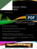 Ib Individual Oral Assessment Characteristics