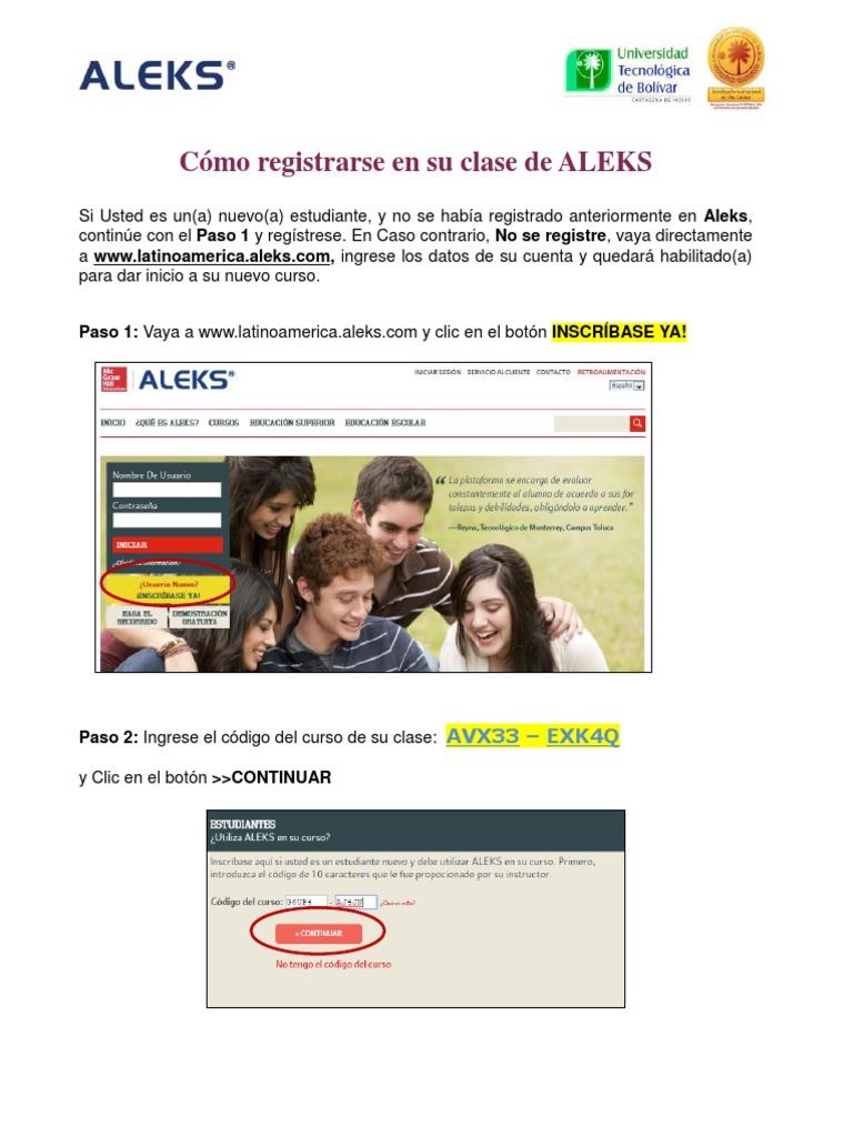 Instructivo Registro Estudiante