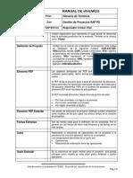 Glosario SAP PS