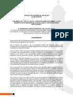 Proyecto Acuerdo Nº 004 COSO Municipal.docx