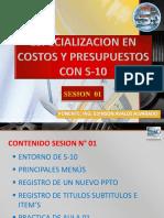 Sesion 01 Costos y Presupuestos Con s10