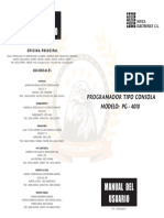 Manual programador pg 4010