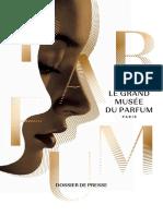 Dossier presse musée parfum