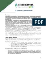 Reservoir Analysis Using Gas Chromatography