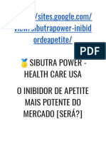 SIBUTRA POWER - HEALTH CARE USA O INIBIDOR DE APETITE MAIS POTENTE DO MERCADO [SERÁ?]