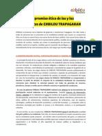 Código ético de la candidatura 2019-2023