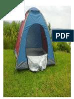 carpa de acampar
