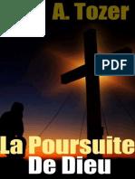 La poursuite de Dieu - A. tozer