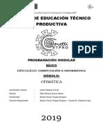 Cetpro Goretti 2019 - Basico