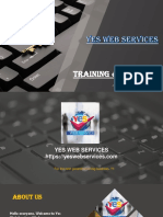 YES WEB SERVICES