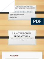 Actuacion probatoria-PROCESAL PENAL II.pptx