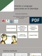 Presentación sistema de neuronas espejos y lenguaje