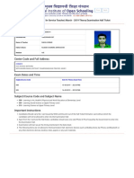 Hall Ticket Feb 2019 - Diploma in Elementary Education (D.el.Ed) Admit Card