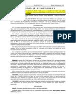 Acuerdo Dias Función Pública 26-03-2019