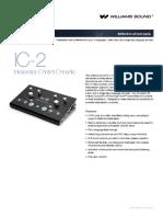 Ic 2 Especificaciones