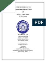 Internship Report on Lakshmi c