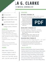 Kayla Clarke Professional Resume