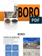Expo #2 Inorganica 2 Boro