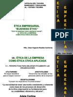 Vi.-etica Empresarial Como Etica Civica Aplicadai