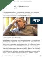 """Entrevista a Ranciere_ """"Hay Que Imaginar Formas de Vida Política"""" _ Lavaca"""