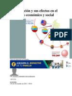 La Migración y Sus Efectos en El Desarrollo Económico y Social