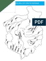 Plansa Harta Raurilor Din Romania